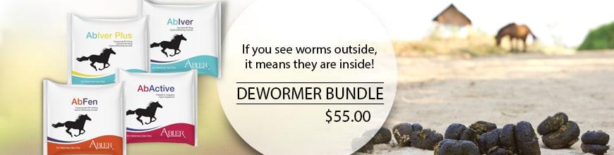 Abler Dewormer and Probiotic Bundle