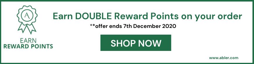 Earn Double Reward Points